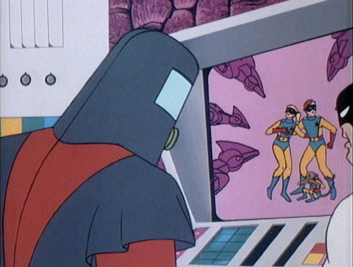 Moltar gloats over Space Ghost's helplessness