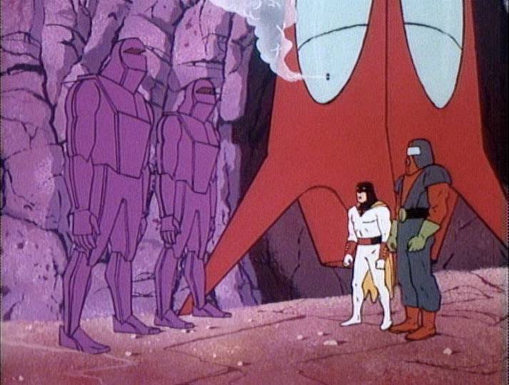 Space Ghost, the Molten Monsters, and Moltar