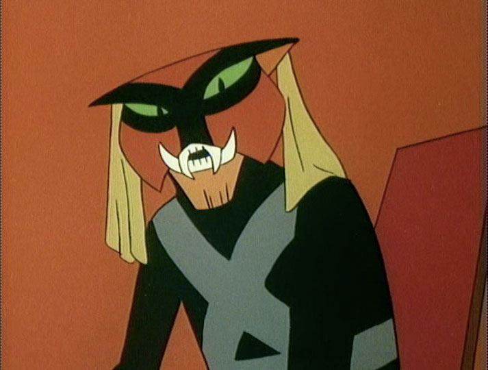 Brak, back when he was still evil